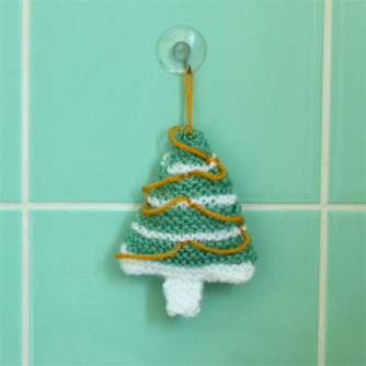 Christmas knit pattern