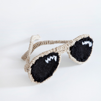 Sunglasses knitpattern