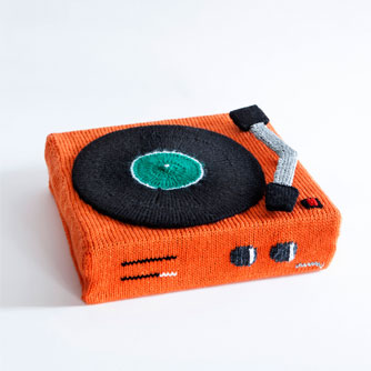 Recordplayer knitpattern
