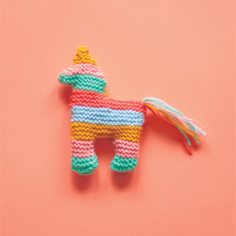 Knitted Piñata